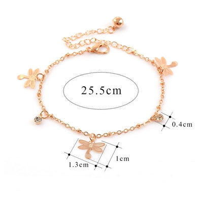 Majestic Dragonfly Anklet - MM Watch 4U Store | Quality & Style