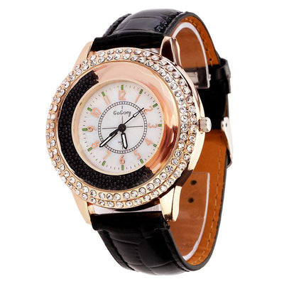 Ladies' Rhinestone Crystal Dress Watch - MM Watch 4U Store | Quality & Style