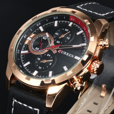 Curren Latest Top Brand Men's Luxury Famous Watch - MM Watch 4U Store | Quality & Style