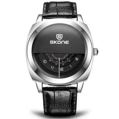 Skone Hot Brand Genuine Men's & Ladies' Special Design Leather Watch - MM Watch 4U Store | Quality & Style