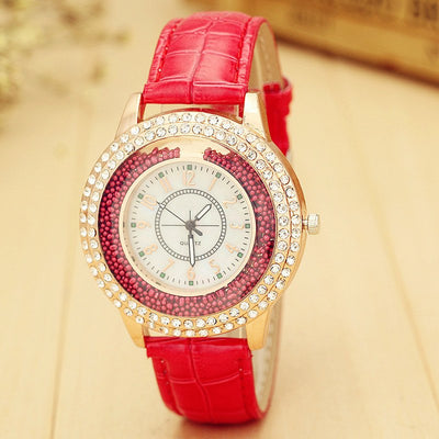 Ladies' Crystal Accented Luxury Watch - MM Watch 4U Store | Quality & Style