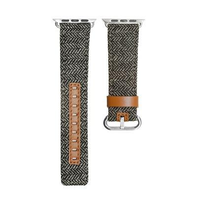 Genuine Leather Denim Watchband for Apple Watch Series 1 2 3 & 4 - MM Watch 4U Store | Quality & Style