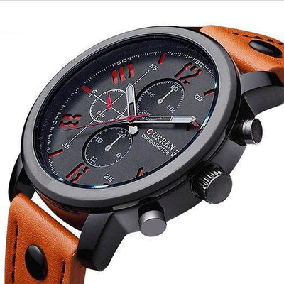 Curren New Hot Luxury Men's Military Quartz Sports Watch - MM Watch 4U Store | Quality & Style