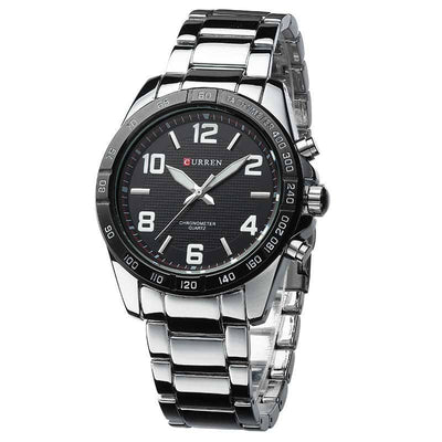 Men's Military Full Steel Watch - MM Watch 4U Store | Quality & Style