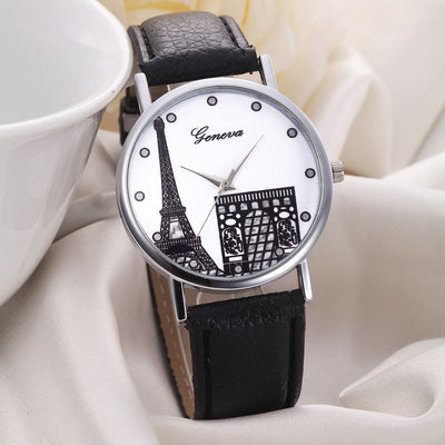 Geneva Latest New Fashion Ladies' Simple Style Top Luxury Dress Watch