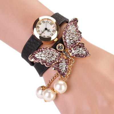 Ladies' Butterfly Statement Bracelet Watch - MM Watch 4U Store | Quality & Style
