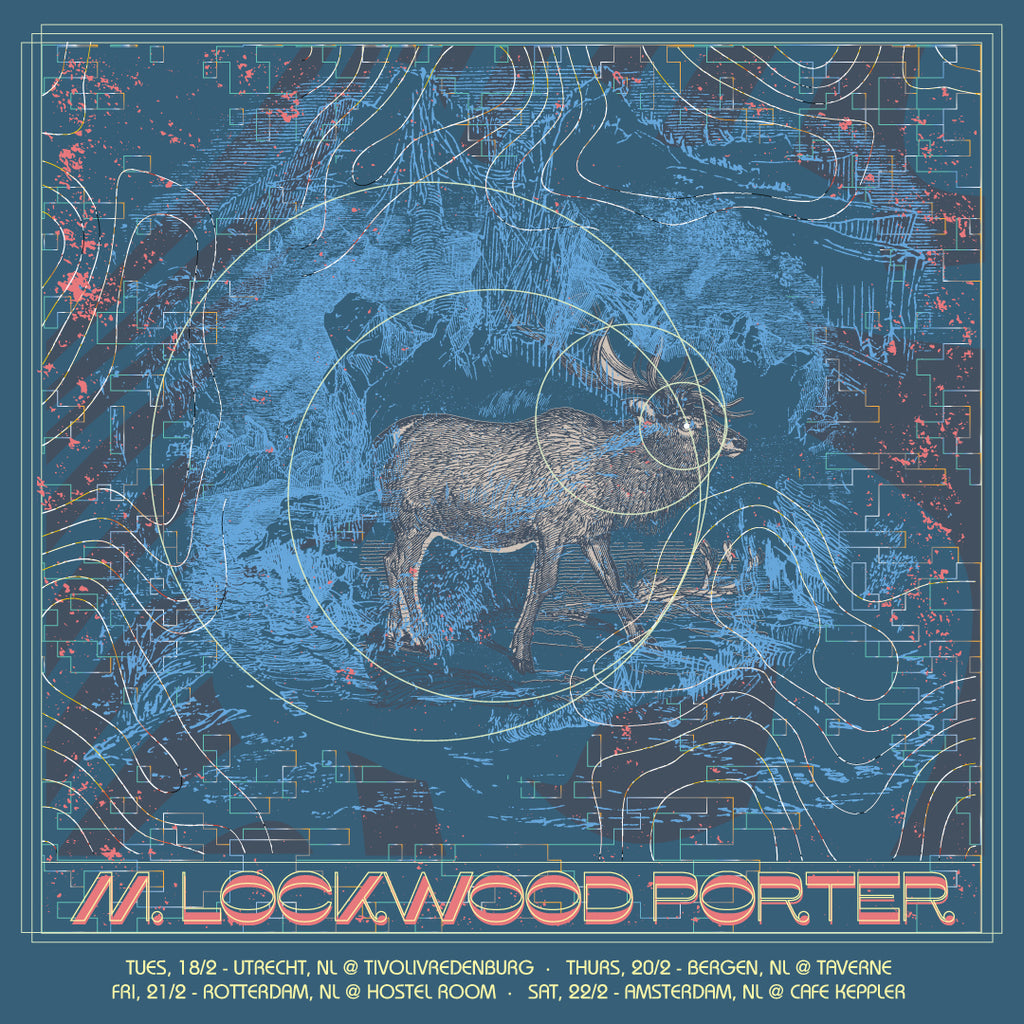 M. Lockwood Porter announces Netherlands tour in February 2020