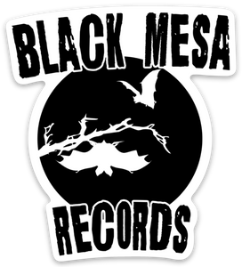 Black Mesa Records - Black Mesa Halloween '18 Sticker - Black Mesa Records