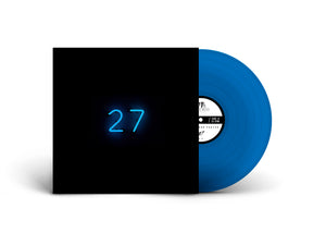 "27 12""LP (Transparent Blue vinyl)"