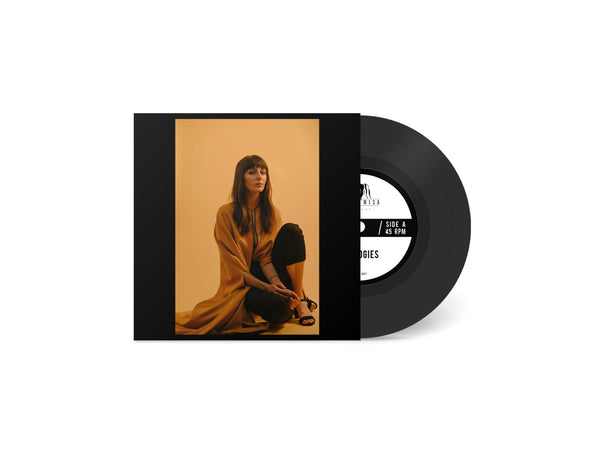 "Anna Ash - Apologies b/w Some Kind Of Miracle 7"" - Black Mesa Records"
