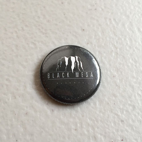 Black Mesa Logo Pin 4