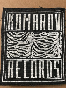 Distro - Komarov Patch - Black Mesa Records