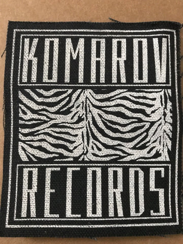Komarov Records - Komarov Patch - Black Mesa Records