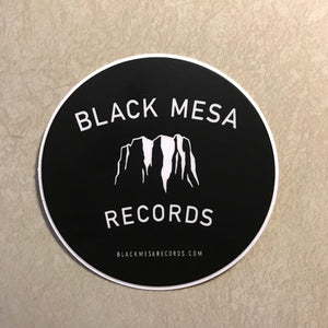 Black Mesa Records - Black Mesa Logo Sticker - Black Mesa Records