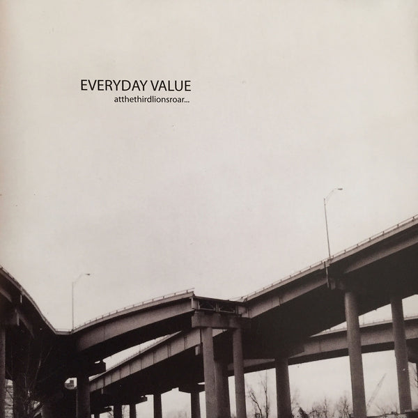 Everyday Value - At The Third Lions Roar CD - Black Mesa Records