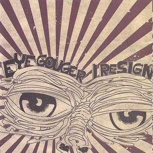 "Komarov Records - Eye Gouger/I Resign 7"" Split - Black Mesa Records"