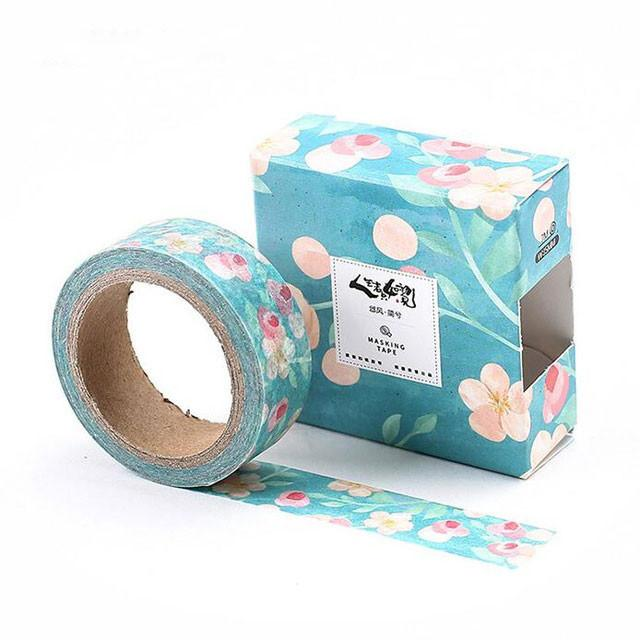 Oriental Floral Washi Tape Collection - 8 designs available