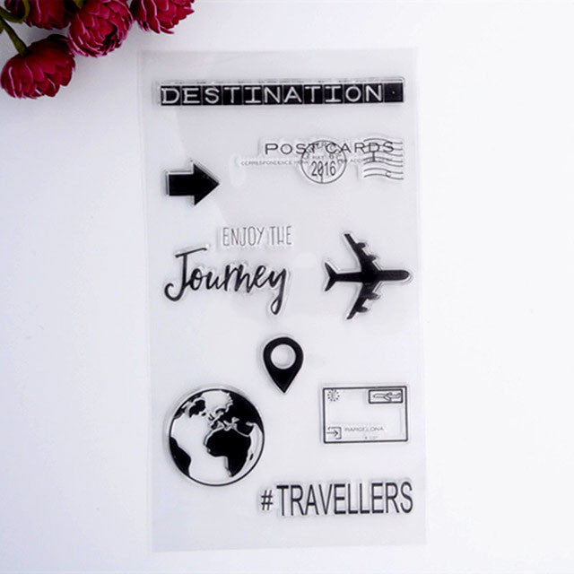 travel journal stamps