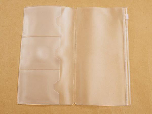 PVC Storage Bag and Cardholder insert FOR Midori style Traveler's Notebook Journal (4 Sizes Available)