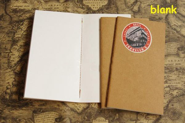 Standard size (21*11cm) Traveller's Notebook Refill And Insert for Self-Customisable Midori Style Traveller's Journal