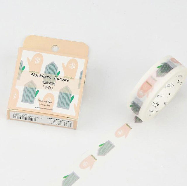 u - Scandinavian Collection Washi Tape