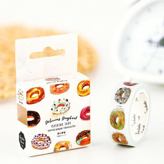 Donut Washi Tape at doodads hunter