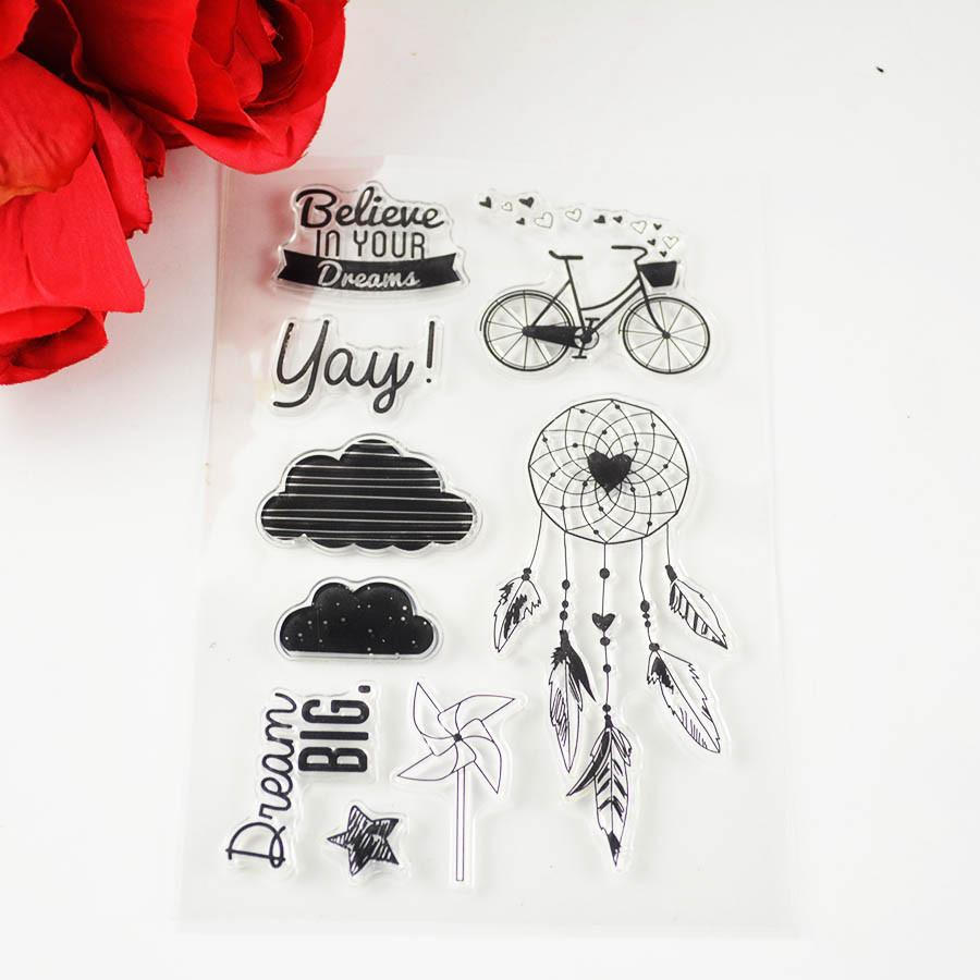Dream Catcher Collection Transparent Stamps