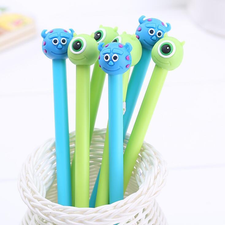 Mike & Sully Monster University Gel Ink Pen - 6pcs/pack