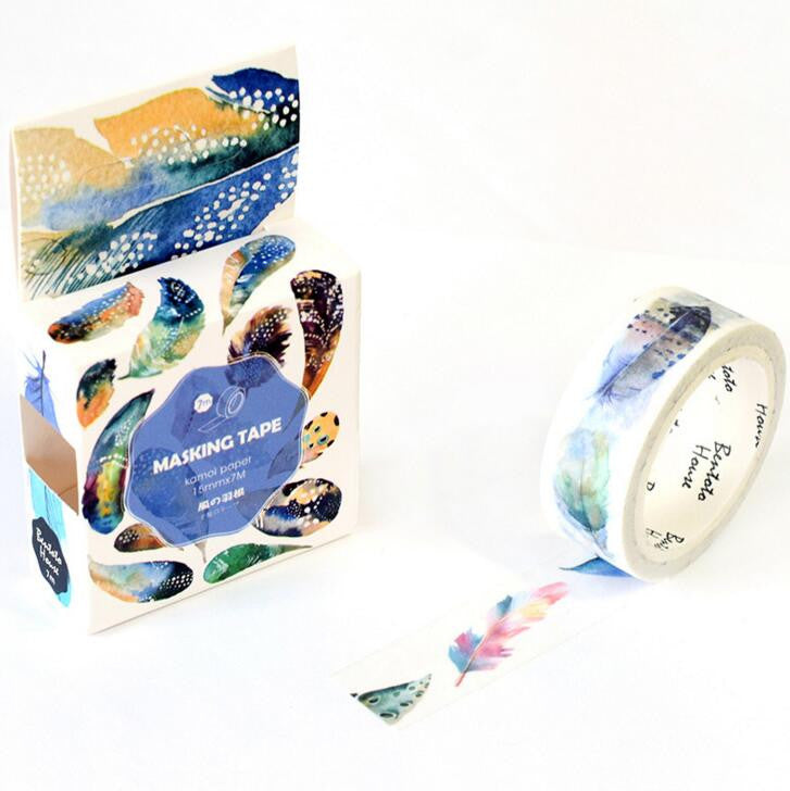 The Flying Feather Decorative Washi Tape