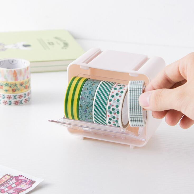 Creative Stackable Washi Tape Storage Box - Washi Tape Organizer