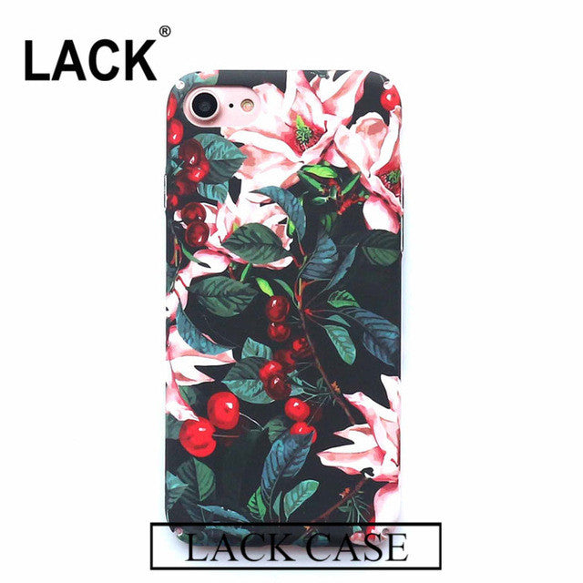Trendy & Fashion Floral Design Phone Cases for Iphone 6 and Iphone 7