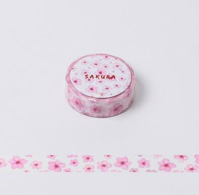 Various Flowers Decorative Washi Tape Collection