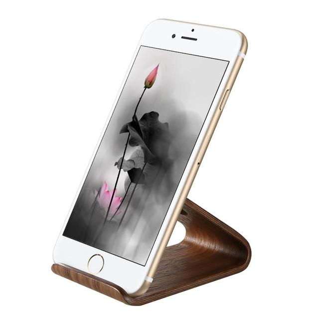 Elegant and Classy Wooden Smart Phone Stand