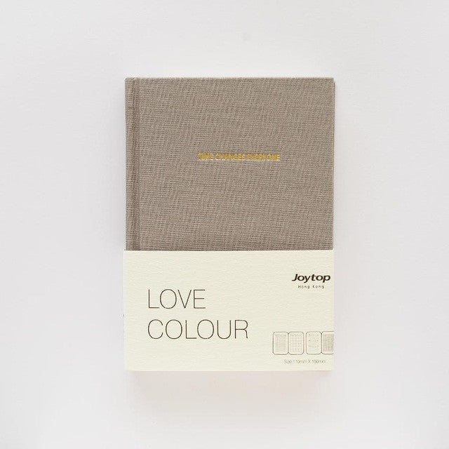 Love Colour Hard Cover Planner/Notebook 2017