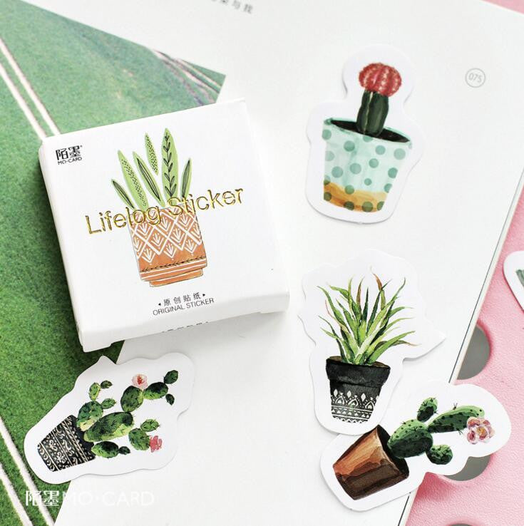 Succulent Plants Stickers