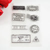 Vintage Retro Post Silicone Stamps