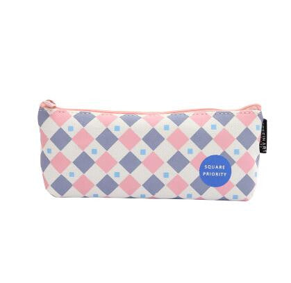 Geometry Canvas Pencil Cases