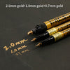 SAKURA Drawing Artist Marker Pen - Metallic Gold 3 Sizes