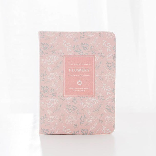 Sweet Floral Bullet Journal Planner