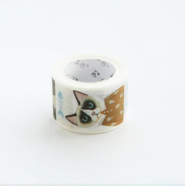 Cute Kitty Cat Washi Tape Collection