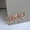 Rose Gold Metal Paper Clips (Various designs 4pcs/pack)