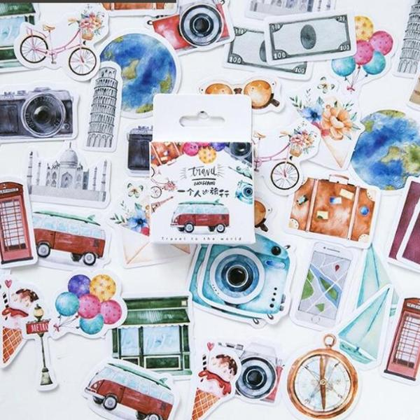 Travel Decorative Stickers collection