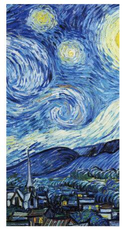 Van Gogh Series Simple Memo Pad for Quick Notes