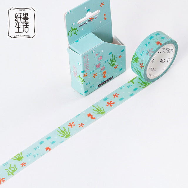 Amazing Deep Sea Washi Tape Collection