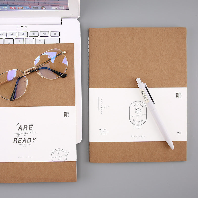 Simple Minimalist B5 Notebook with Lined pages