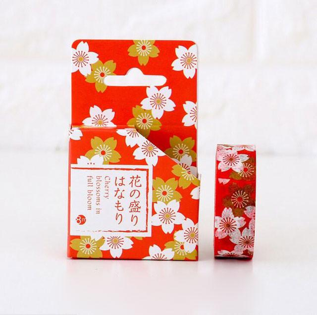 Japanese Sakura Washi Tape widest selection cheapest bullet journal