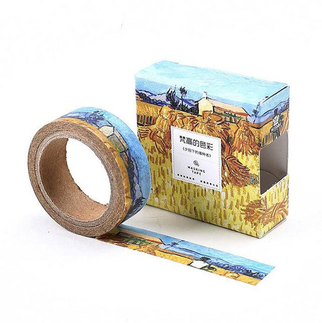 Van Gogh Painting Inspired Washi Tape