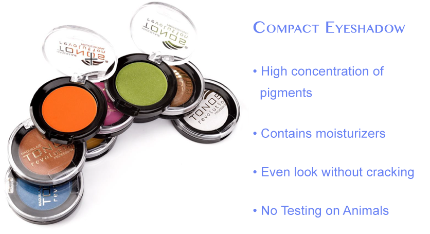 Long Lasting Compact Eyeshadow - Gluten Free, Cruelty Free