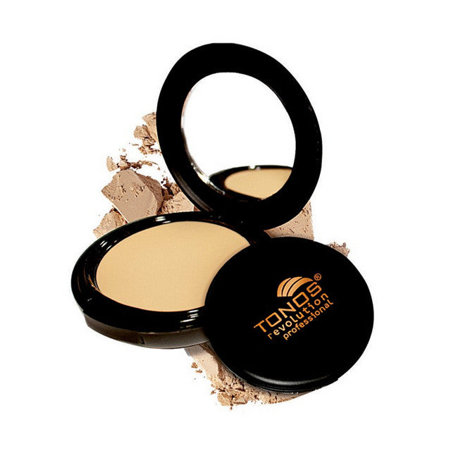 Full Coverage Pressed Powder with vitamins A and E