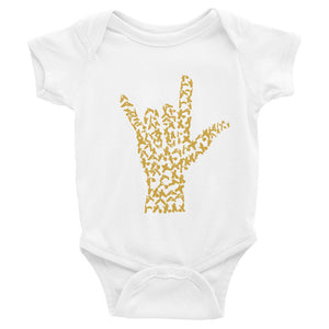 Infant I LOVE YOU Bodysuit